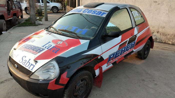 El piloto de Monteros Julio Perea Racedo realizó pruebas con su Ka