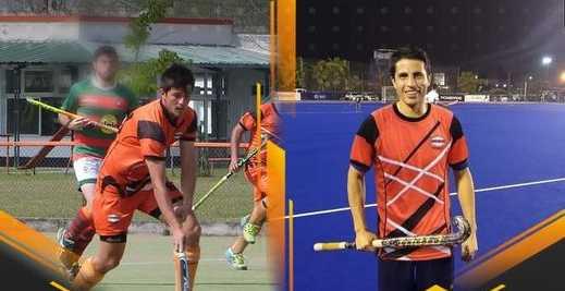 Martín Zalatel y Takesi Shiroma dos piezas claves del hockey de Monteros