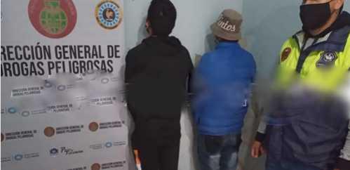 Detienen con droga en Famaillá a dos hombres de Santa Lucía