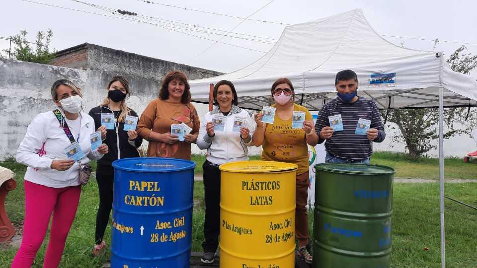 Más barrios de Monteros se suman al cuidado del Medioambiente